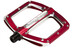 Spank Spoon Flat Pedals S red